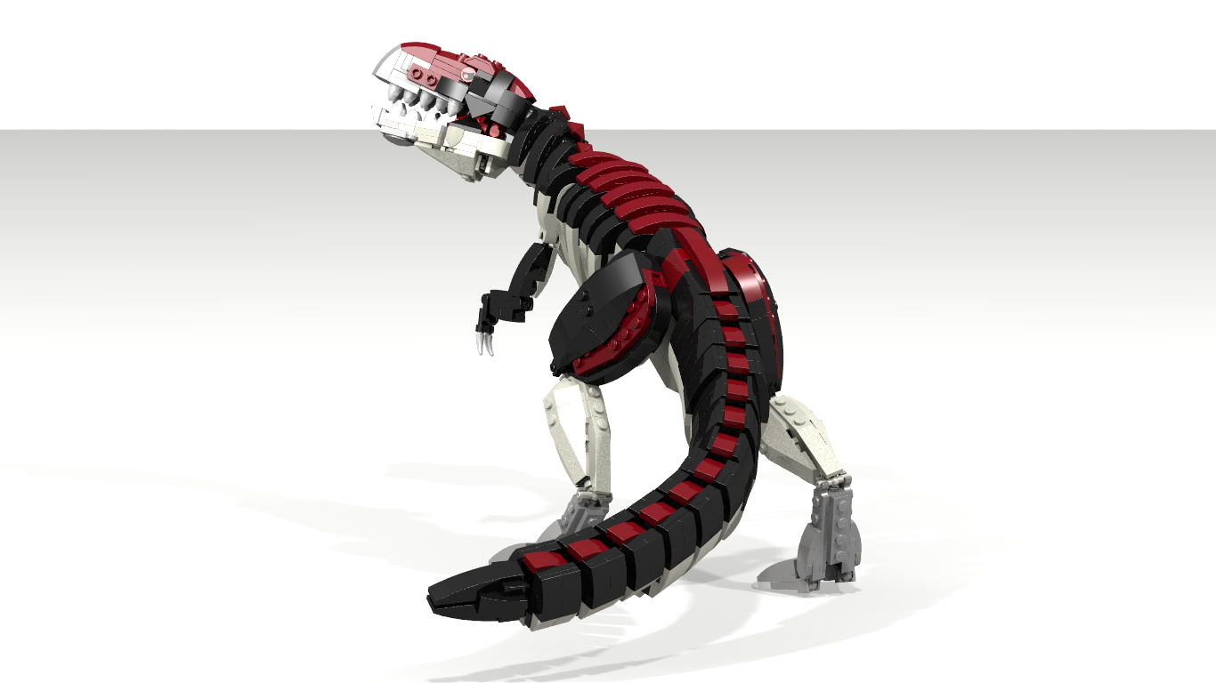 Tyrannosaurus lego dinosaur
