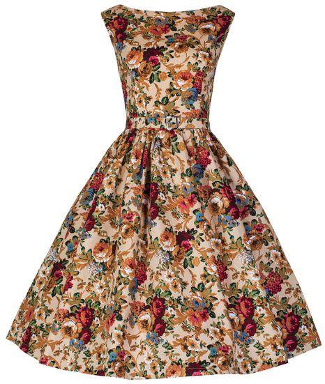 Lindy Bop  Audrey  Hepburn Style Vintage 1950 s Spring Garden Floral Party  Dress (XL 4e1eb06d00