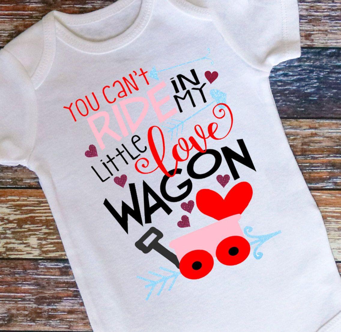 Baby Valentines Bodysuit Baby Girl Valentines Day Shirt Kids