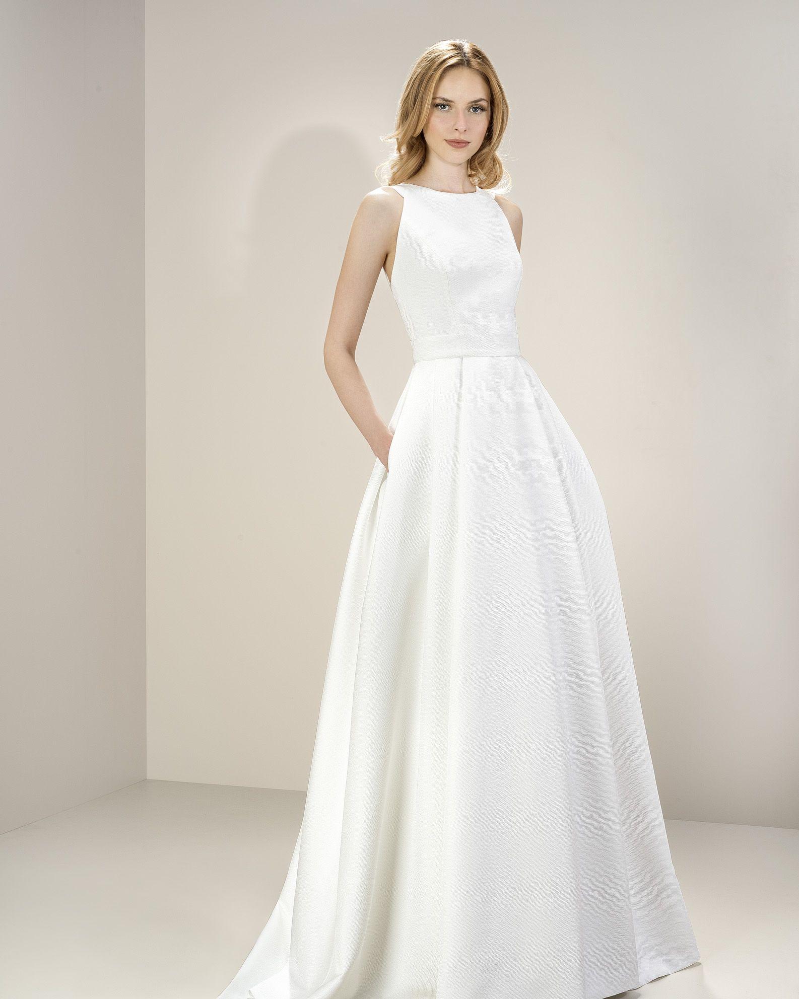 Metropolis collection by jesus peiro style wedding dresses