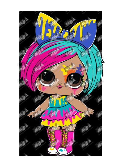 Splatters Lol Dolls Cute Dolls Ladybug Party