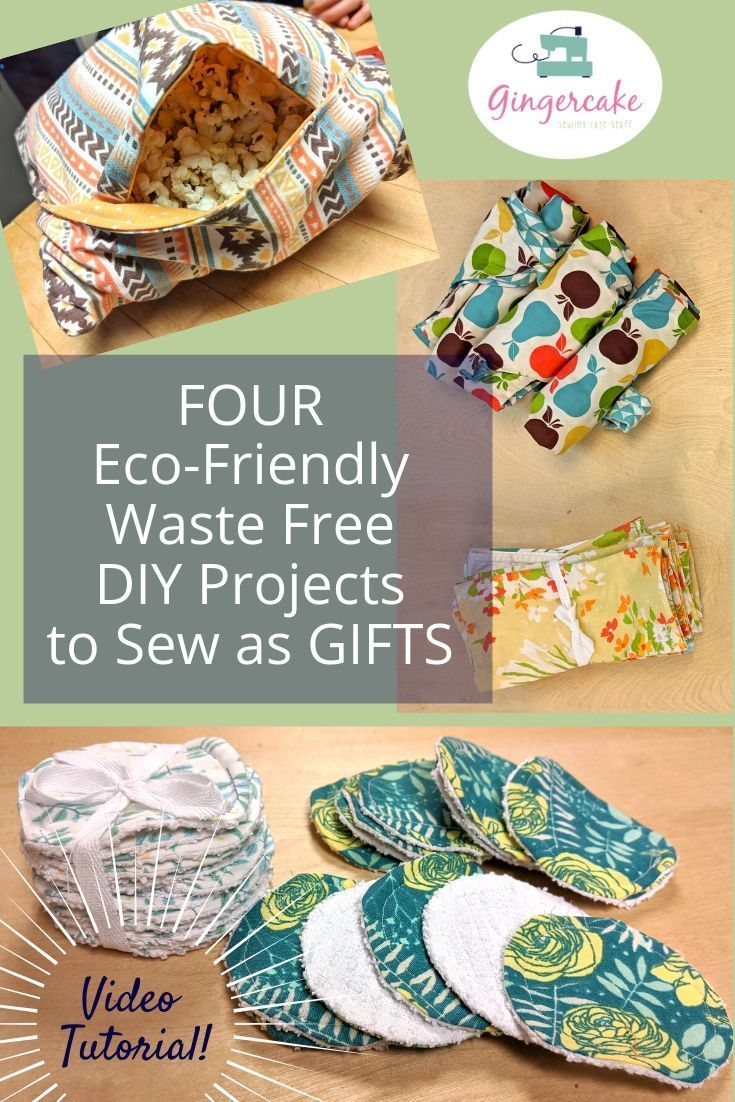 Eco-Friendly Waste Free Sewing Projects