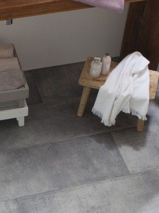 Sol vinyle Kitchen  Bath zing metallique - Saint Maclou S O L