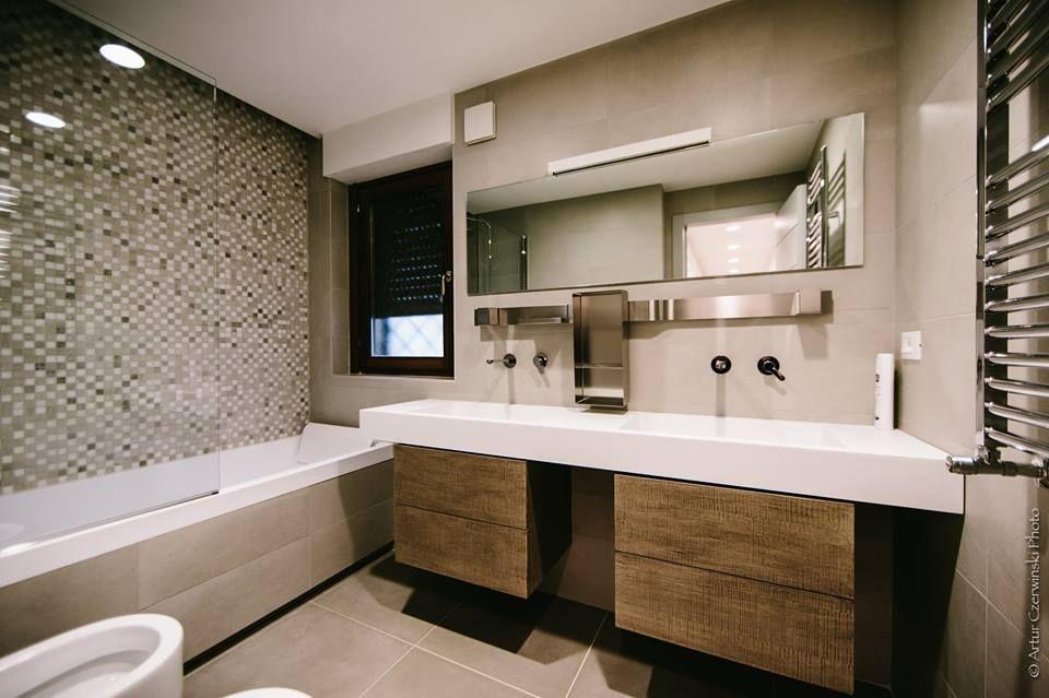 Appartamento bagno arredamento rivestimento termoarredo