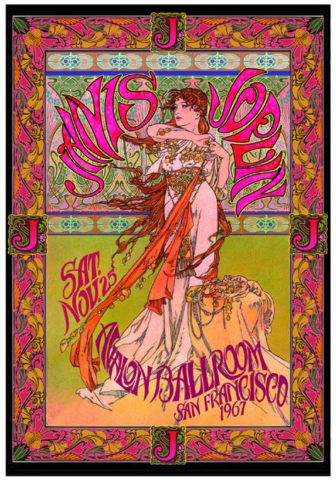 Janis Joplin 1967 Avalon Ballroom
