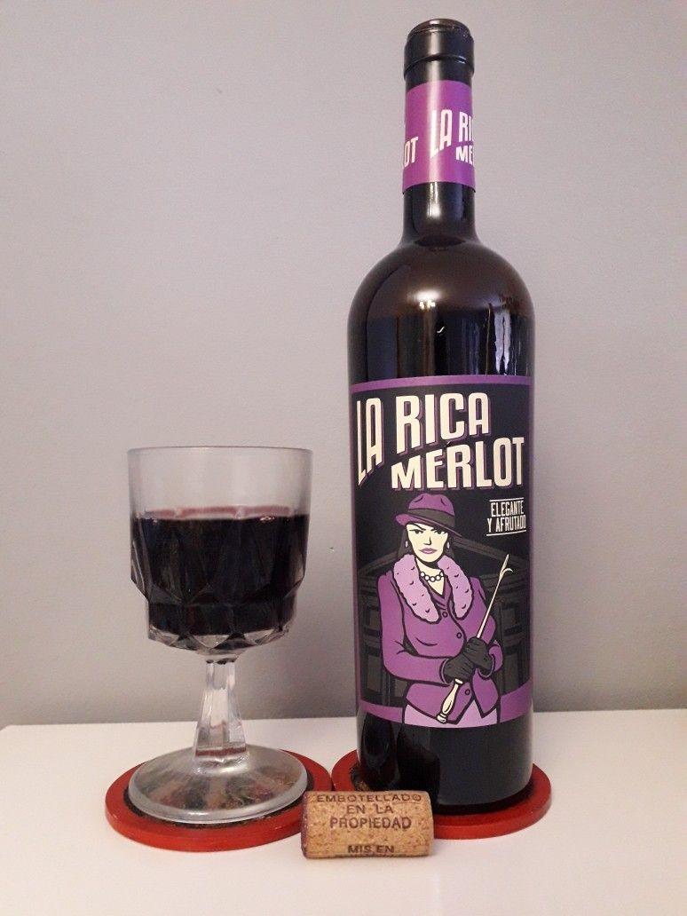 La Rica Merlot 2018 Vinhos