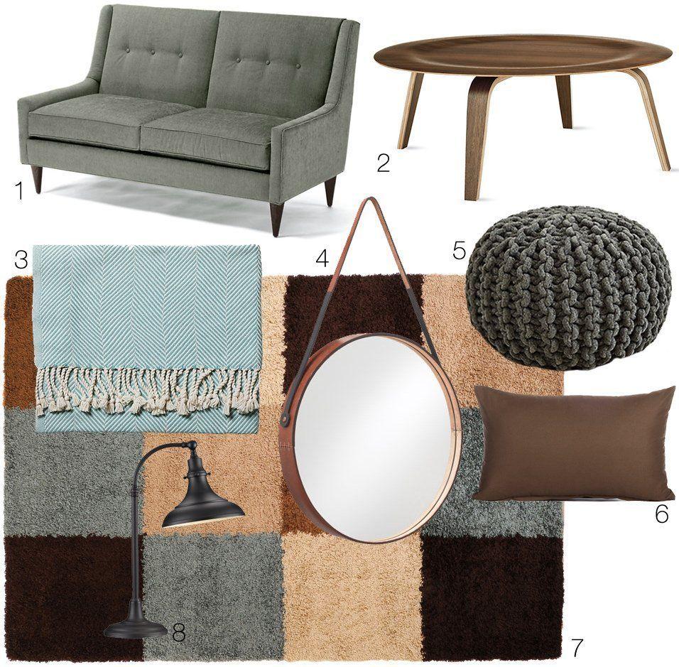 One Design, Two Budgets: A Soft & Subtle Modern Mix | Pinterest
