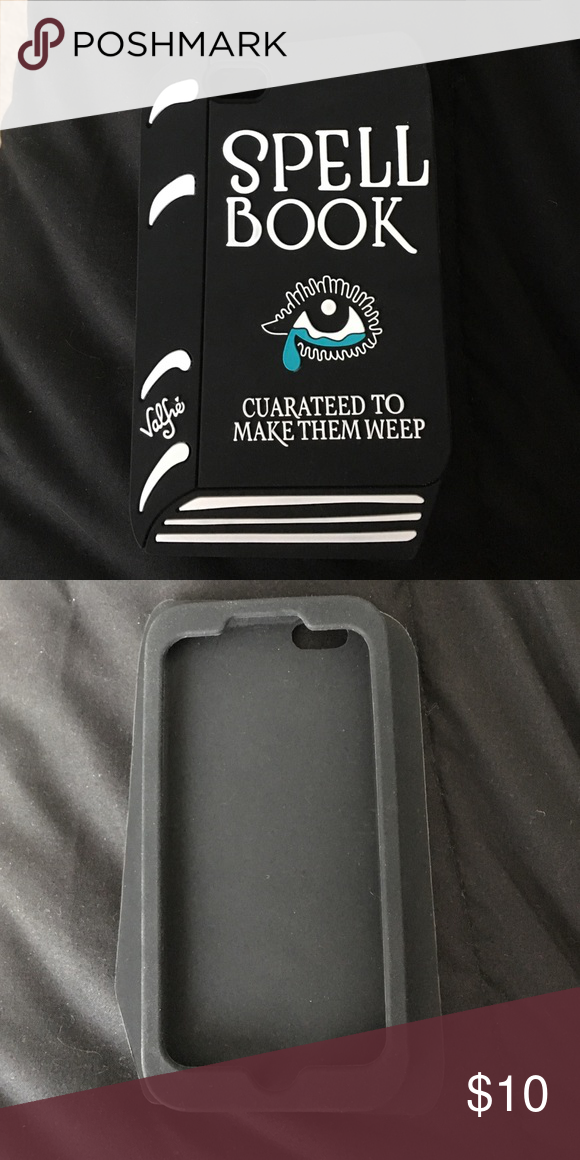 iPhone 6s spell book case Why not?  it's bewitching. I got a new iPhone case so I'm switching it valfre Accessories Phone Cases