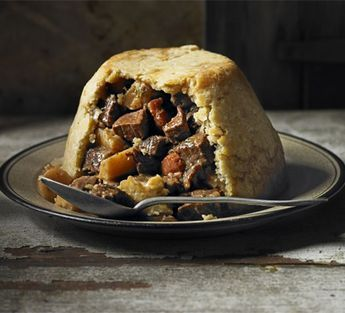 Beef, ale & parsnip pudding: A traditional steak and ale ...