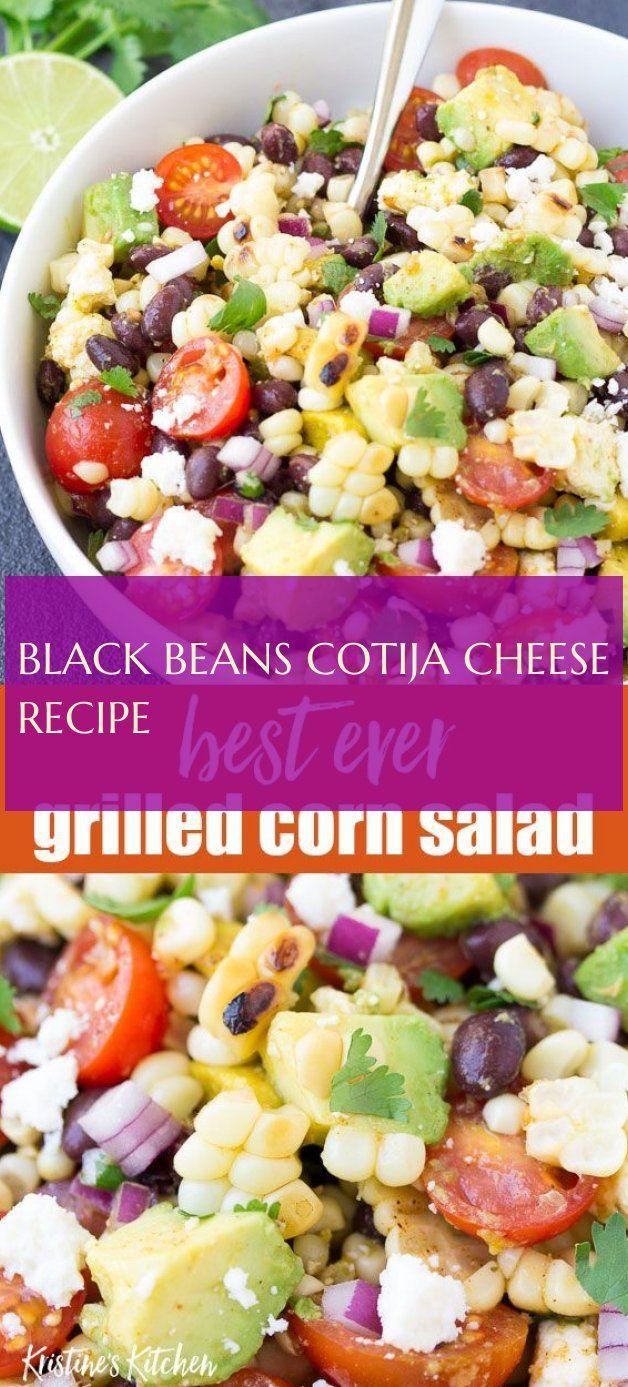 black beans cotija cheese recipe