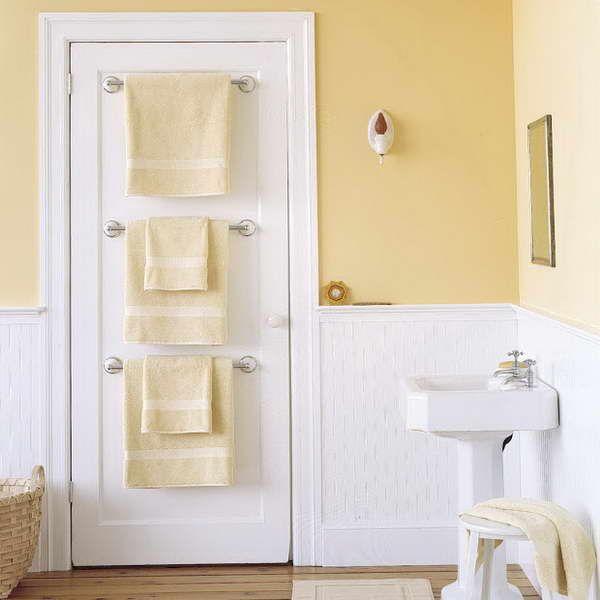 Back of the door towel rack. Back of the door towel rack   For the Home   Pinterest   Bath