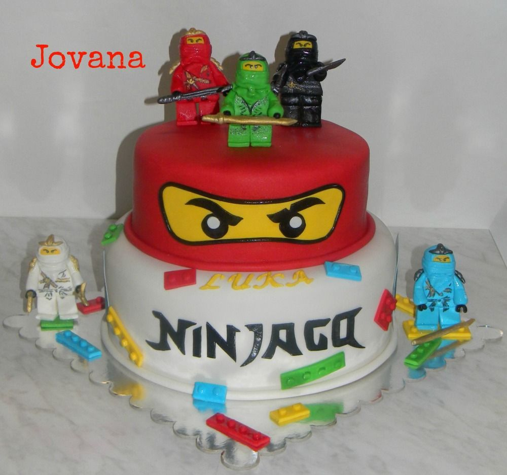 Ninjago torte i mafini Ninjago torte i mafini za nasa dva drugara   Ispod fondana prve