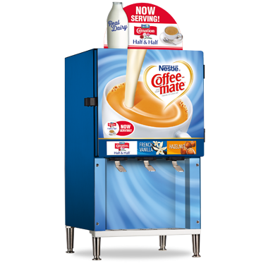Coffee Mate Bulk Liquid Creamer 3 Head Dispenser With Images
