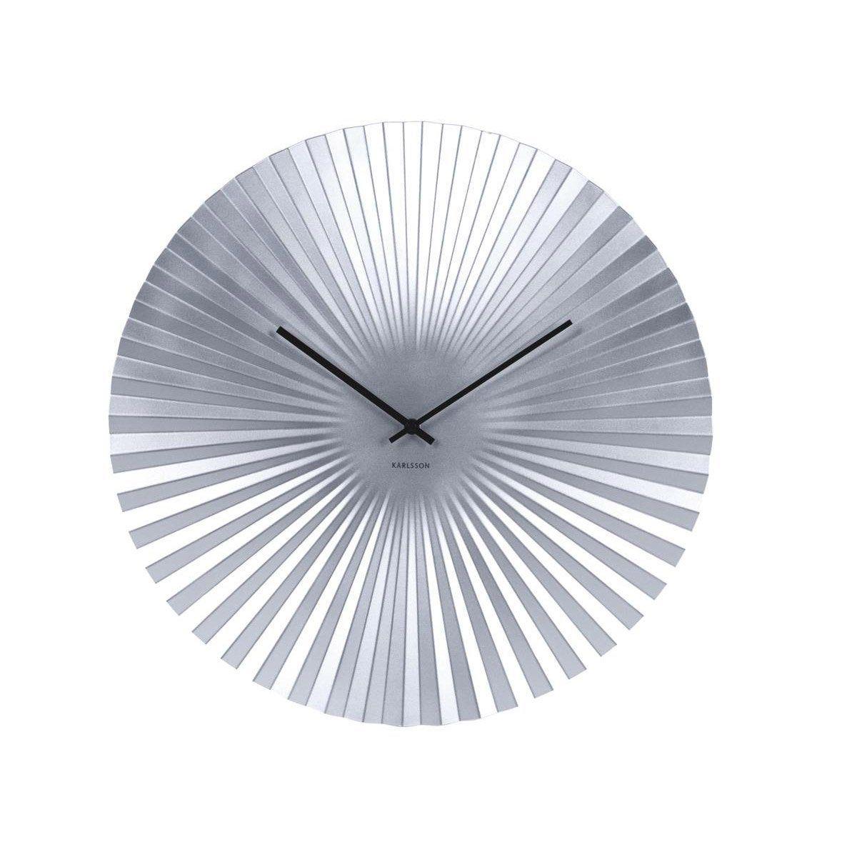Horloge Sensu Ronde Silver Karlsson L50 X H50 Cm