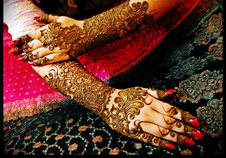 Mehndi Bridal Design Latest : Bridal mehndi designs for full hands u she life style