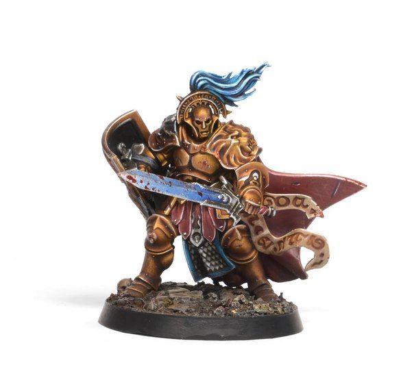 Age of Sigmar | Stormcast Eternals | Knight Questor #warhammer #ageofsigmar #aos #sigmar #wh #whfb #gw #gamesworkshop #wellofeternity #miniatures #wargaming #hobby #fantasy