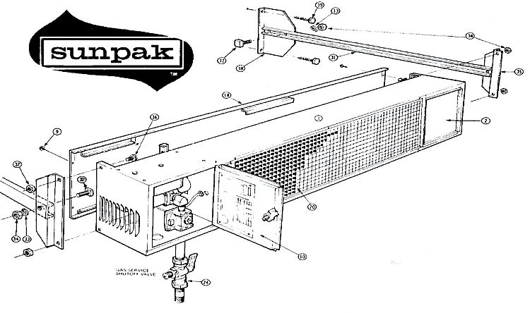 Sunpak Sunpak Patio Heater Replacement Parts | seattleluxe.com ...