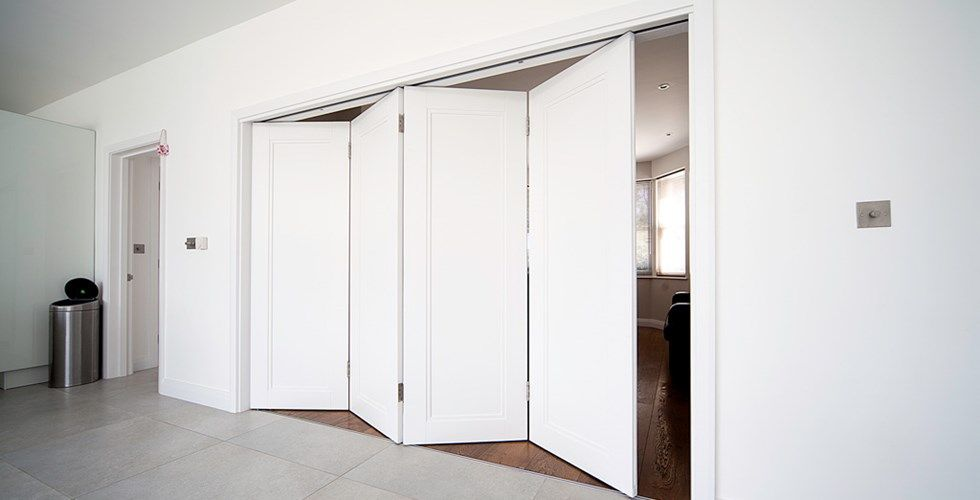 Wall Folding Door Partitions | Sliding folding partition doors double sided mirror doors . & Wall Folding Door Partitions | Sliding folding partition doors ...