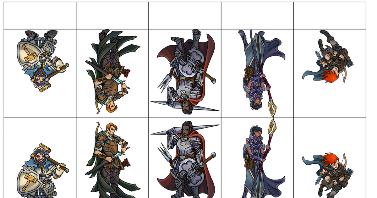 Transformative image throughout printable heros