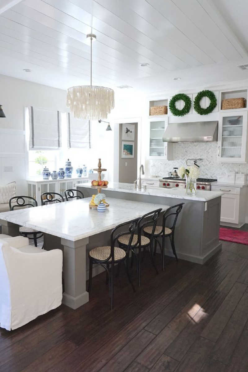 15 Reasons To Renovate Your Home Instead Of Moving Oneplustwo Design Co Interior Design And Home Decorating Functional Kitchen Island Kitchen Island And Table Combo Kitchen Island Decor