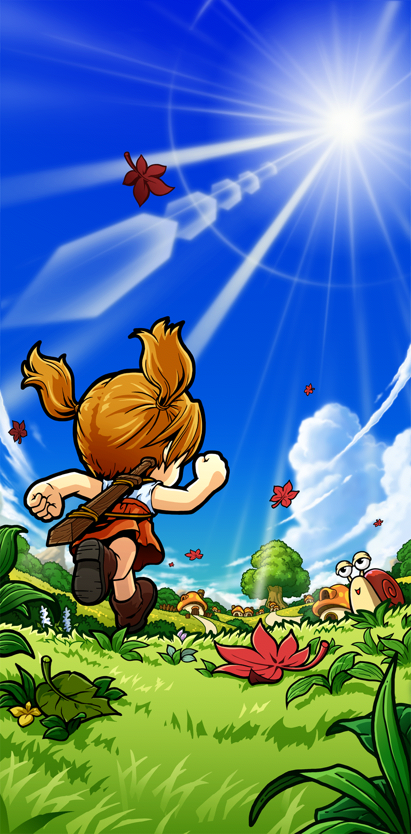 Officialmapleart Artwork Maple Story Maplestory 2