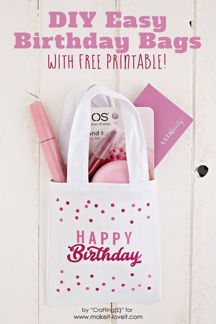 Learn How To Make An Easy DIY Birthday Gift Bag With Just A Few Simple Materials Its And Fun Way Customize Your