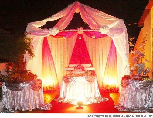 Decoraciones de fiestas con telas y luz buscar con - Comprar decoracion arabe ...