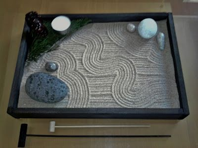 Superior Make Your Own Zen Garden With Rocks And Sand From The Beach. Relaxing, Cheap