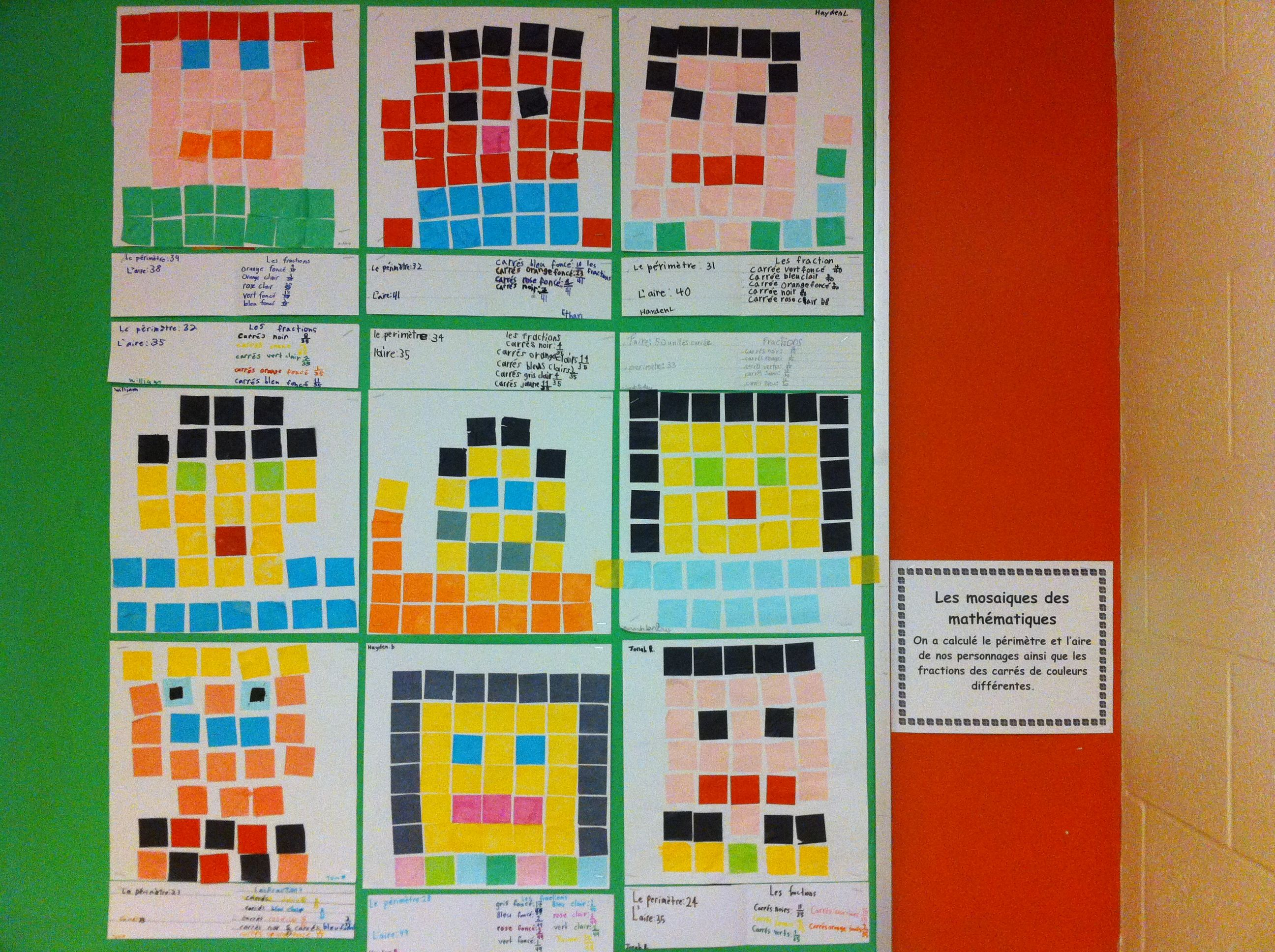 area and perimeter | My students\' art | Pinterest | Math, School and ...
