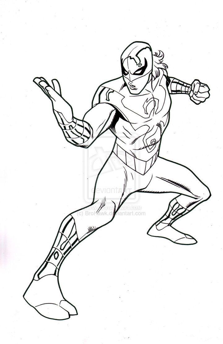 Ultimate Spider-man episode 8-Iron-Fist by BroHawk on DeviantArt ...