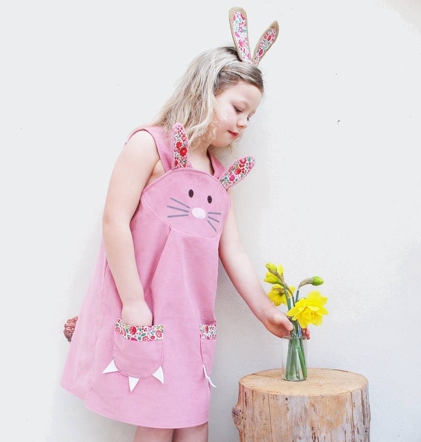 Bunny rabbit dress by wild things funky little dresses 25 fun flower girl dresses for your alternative wedding pink bunny rabbit flower girl dress wild things funky little dresses at not on the high street negle Choice Image