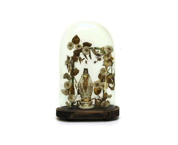 Antique French Glass Globe. Antique Display by LeBonheurDuJour, $300.00