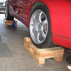 Wood Cribbing Block Diy For Raising The Car In Addition To Jack Stands Vw Tdi Forum Audi Porsche And Chevy Cruze Diese Diy Car Ramps Car Ramps Jack Stands