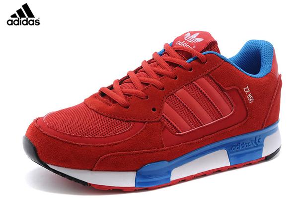 a90469bd1cf6c Men s Women s Adidas Originals ZX 850 Shoes Cardinal Bluebird Black White  D65240