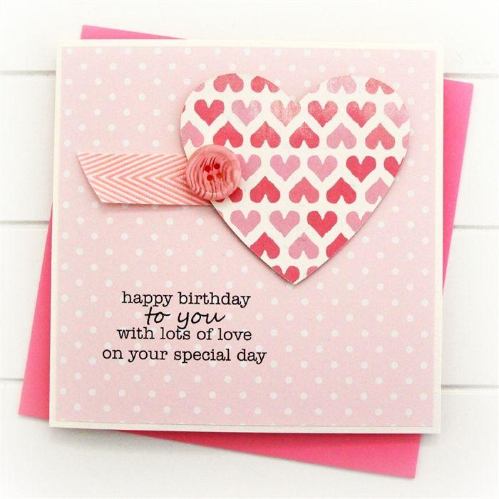 Birthday Card For Girlfriend Happy A