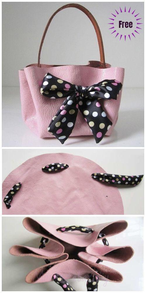 Photo of How to Make No Sew Handbag tutorial