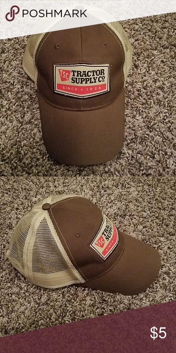e8ad58b701e TSC Trucker Cap Tractor Supply Co (TSC) trucker cap NWOT. In great  condition. From a smoke-free home. TSC Accessories Hats