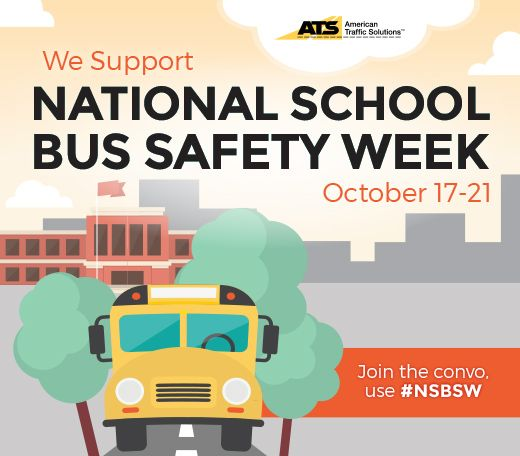American Traffic Solutions Ats Recognizes National School Bus