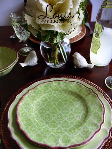 Le Cadeaux Louis Sage Dinnerware