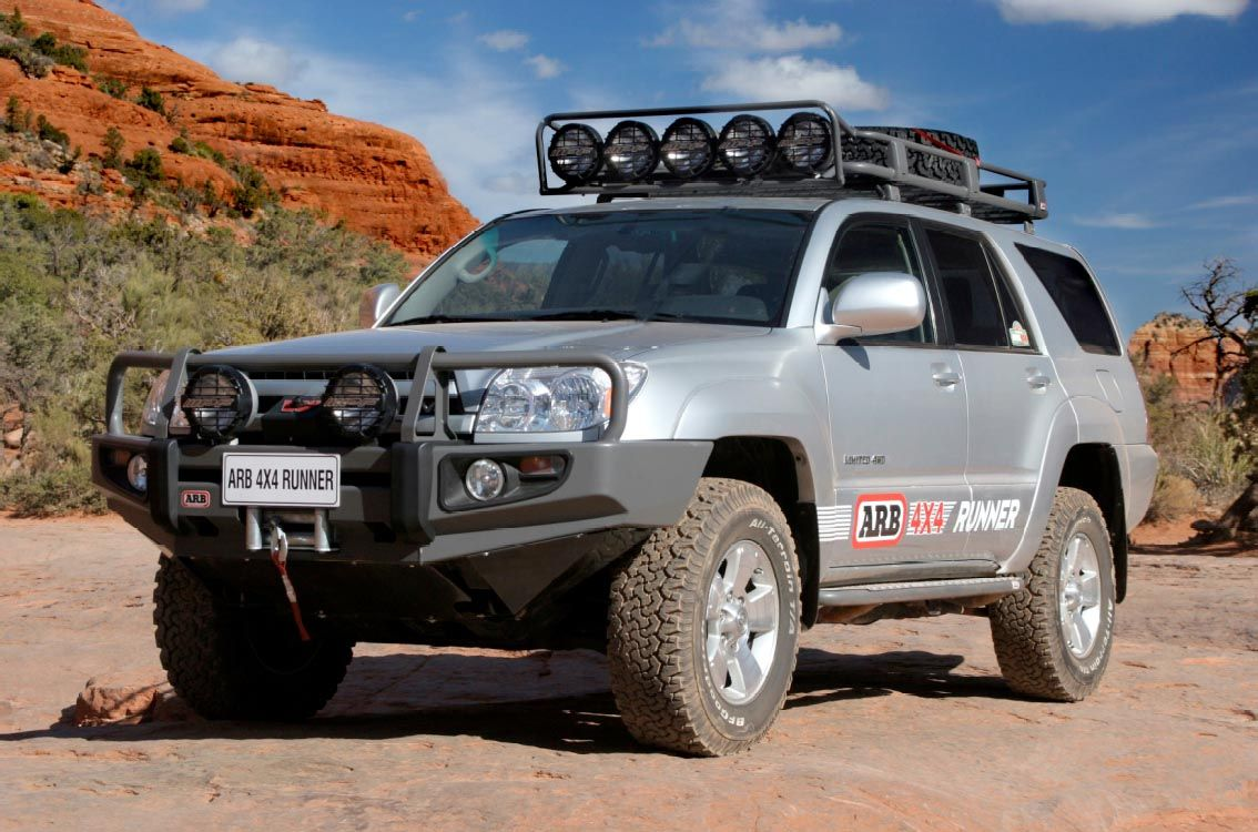 Arb 3421500 deluxe bull bar for toyota continue to the product at the image link