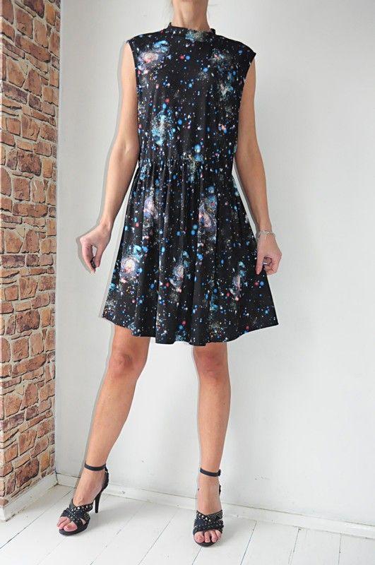 df8a44f0dc Debenhams sukienka czarna wzorek 46 - Vinted