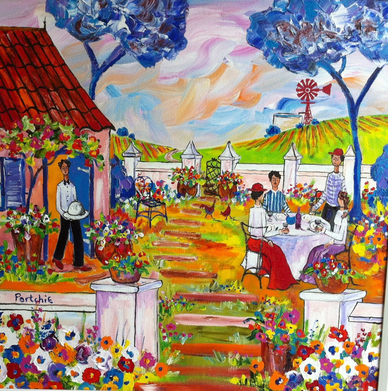 Pin by Tinka Storm on Portchie South african art, Africa