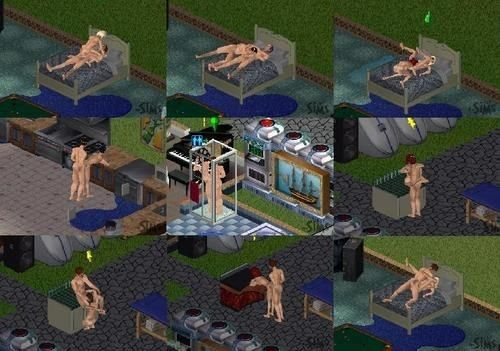 The sims nude sex