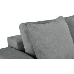 Photo of bobb Big Sofa – grau – 302 cm – 68 cm – 136 cm – Polstermöbel > Sofas > Big-Sofas Bobb