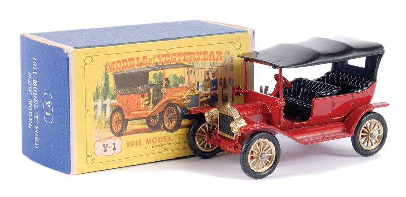 Matchbox Models Of Yesteryear No Y1 2 Ford Model T Car Matchbox