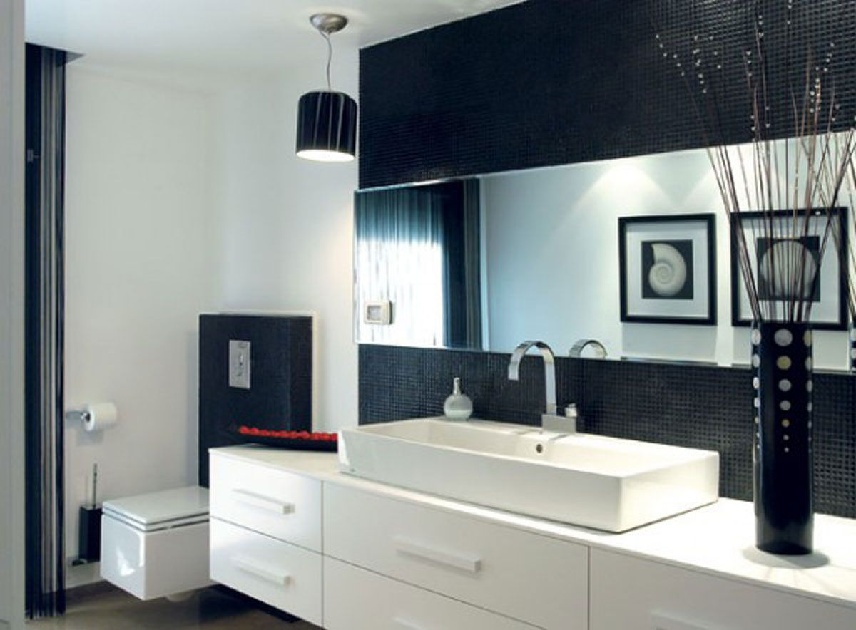 Tasteful modern Bathroom Interior incredible design modern