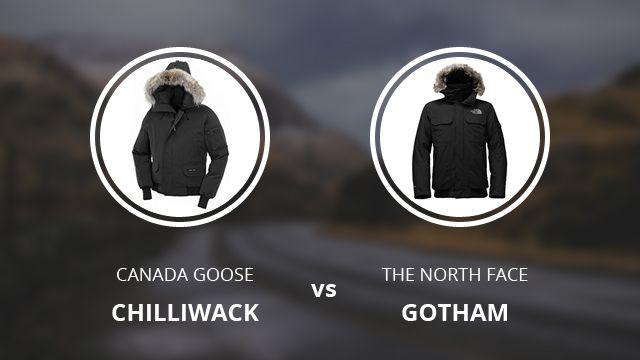 canada goose jacket vs north face