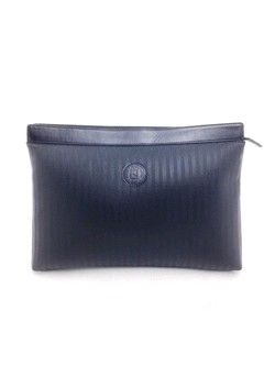 #fendi #black #striped #canvas #clutch #purse #bagoftheday #bagporn #fashion