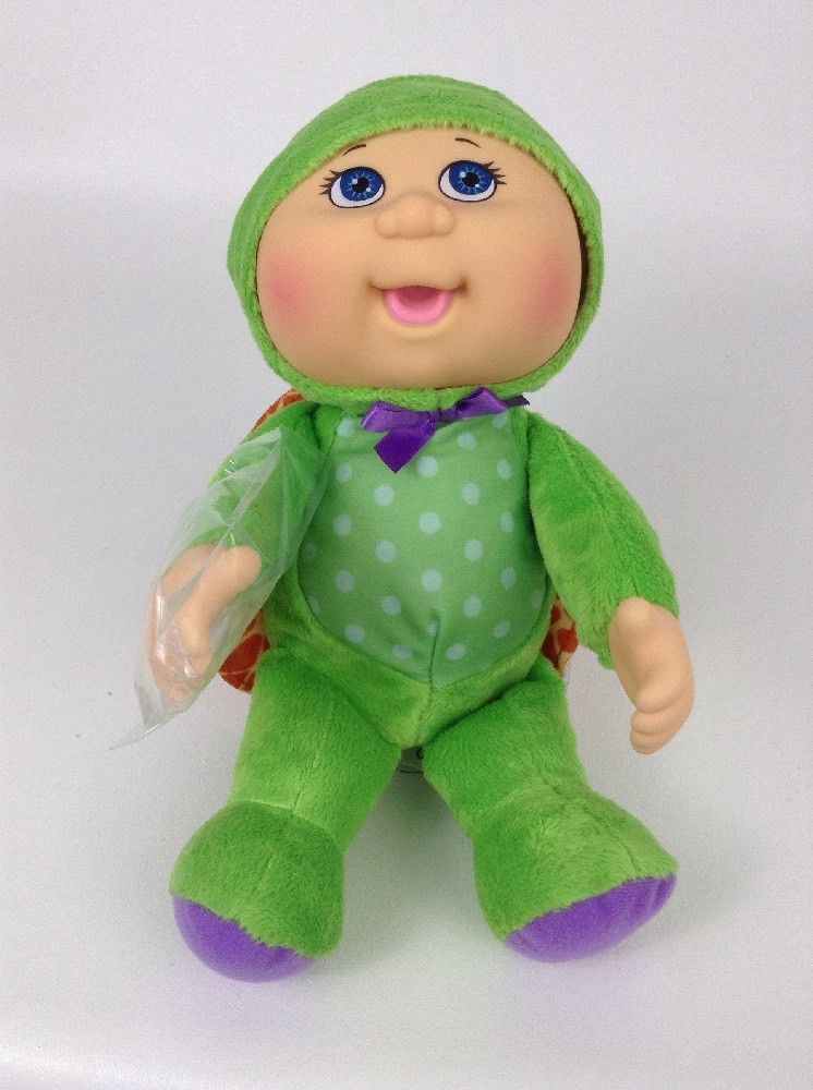 2017 Cabbage Patch Kids Cpk Forest Friends 9 Perry Turtle Plush W Tags Cabbagepatchkids Cabbage Patch Kids Turtle Plush Cabbage Patch Dolls