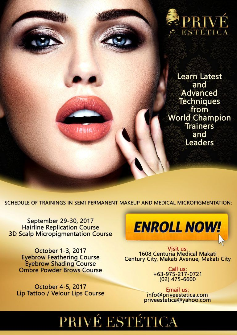 Intensive Training And Courses In Eyebrow Feathering Eyebrow